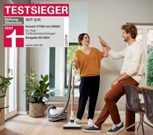 Kobold Stiftung Warentest Testsieger 02/2020