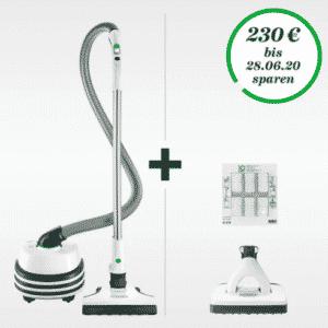 Bodenstaubsauger+Saugwischer+Automatik-Elektrobürste